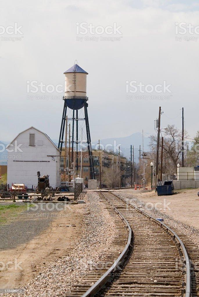 Old Town Arvada stock photo