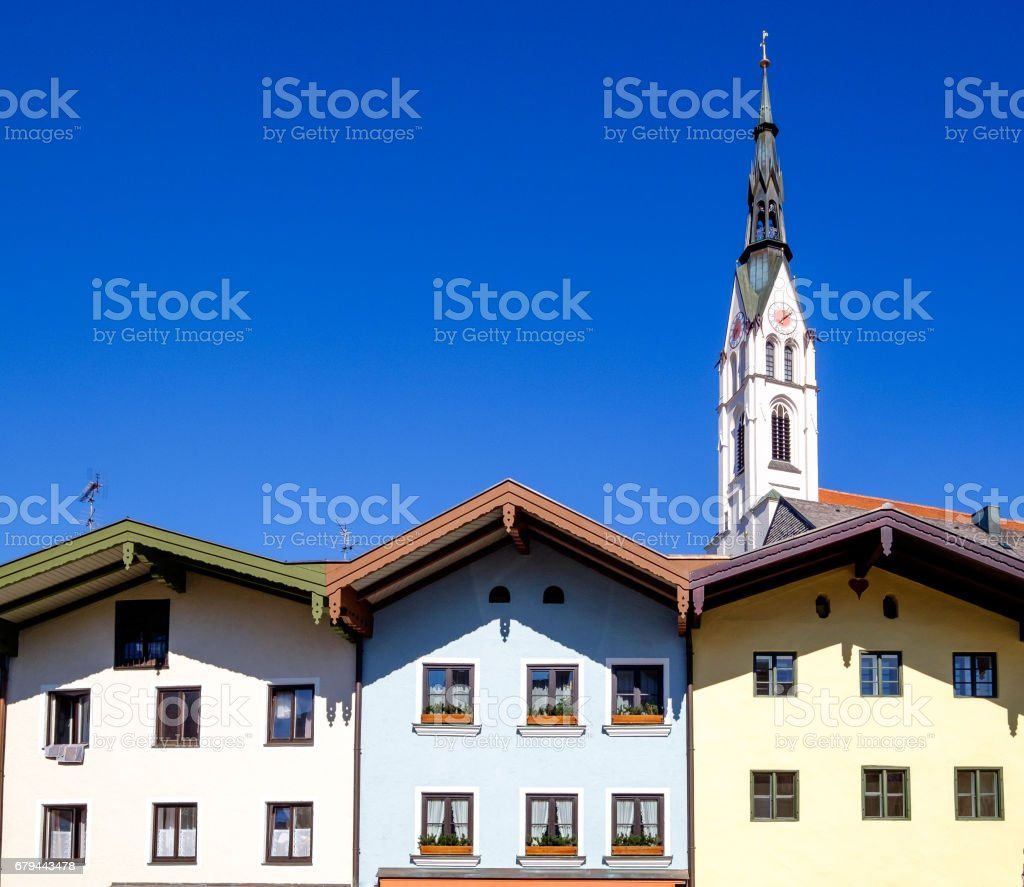 old town bad toelz royalty-free stock photo