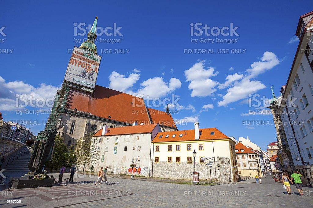 Old Town Bratislava, Slovakia royalty-free stock photo