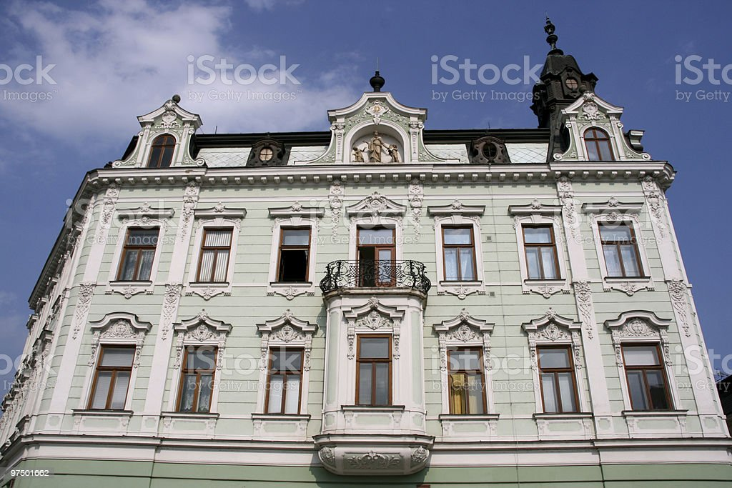 Old town building stock photo