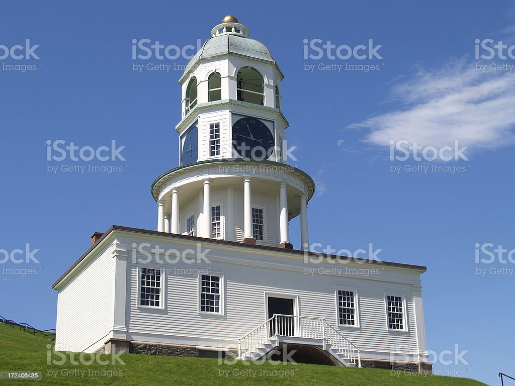 Old Town Clock - Citadel Hill royalty-free stock photo