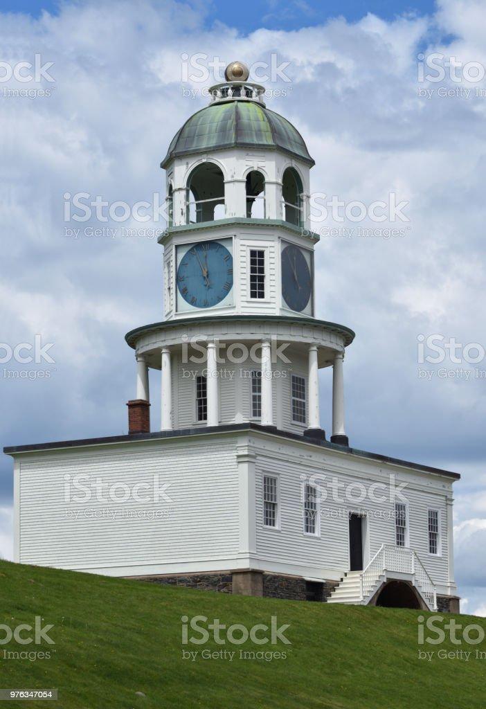 Old Town Clock Halifax Nova Scotia Canada Stock Photo & More