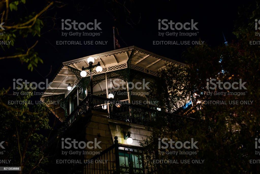 Vista De Cerca De Ciudad Vieja De Dufferin Terraza Por La