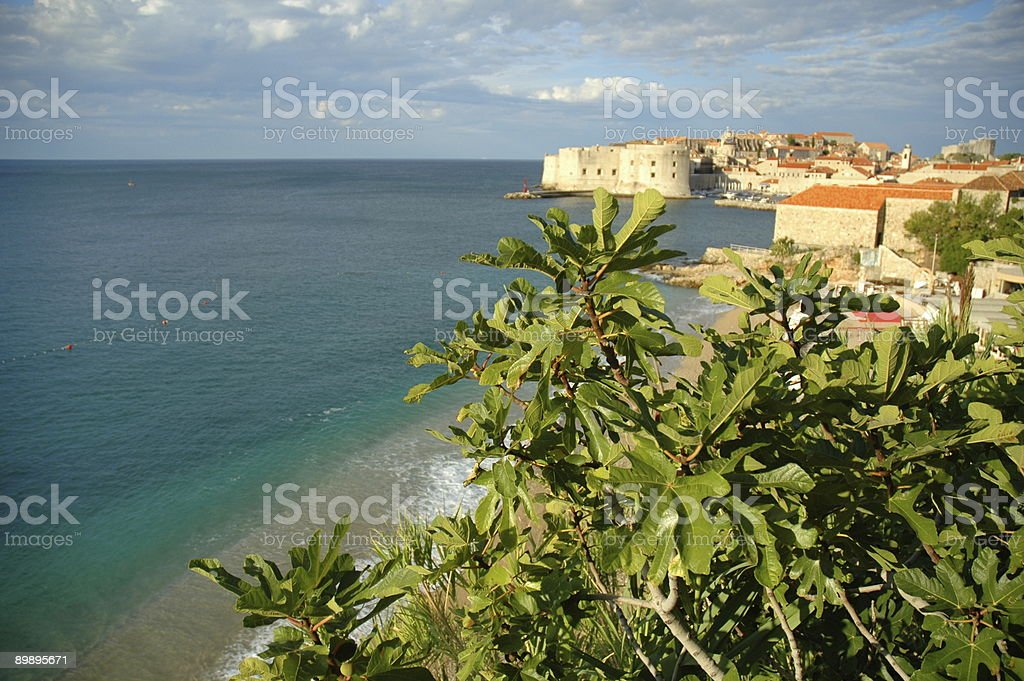 Old Town, Dubrovnik, Croatia. royalty-free stock photo
