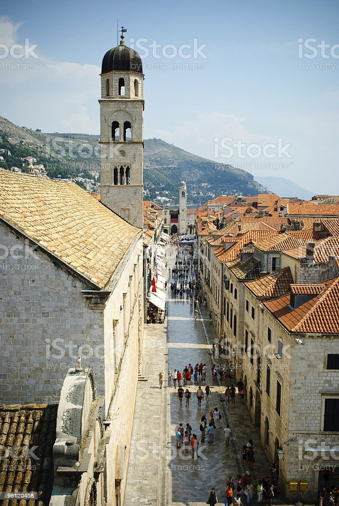 Old Town Dubrovnik royalty-free stock photo