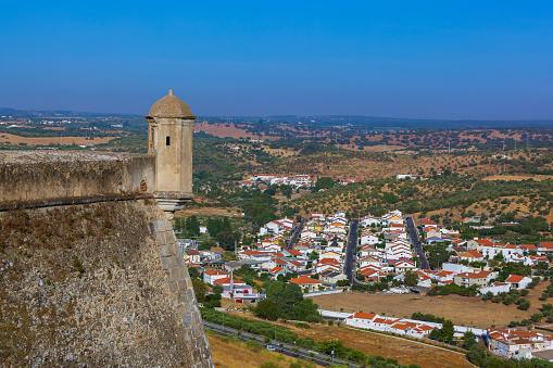 Old Town Elvas Portugal - Fotografias de stock e mais imagens de Antigo