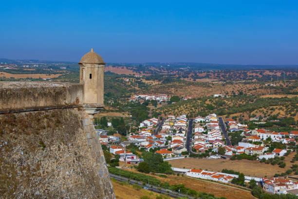 old town elvas - portugal - portalegre imagens e fotografias de stock