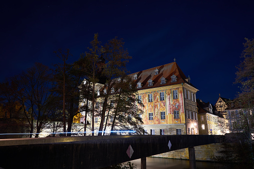 Old Town Hall Bamberg at night