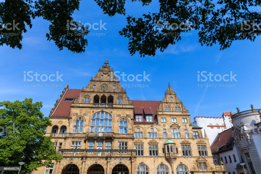 old town hall bielefeld germany - Royalty-free Bielefeld Stock Photo