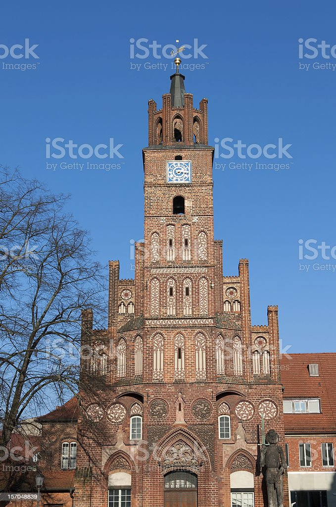 Old Town Hall, Brandenburg an der Havel (Germany) stock photo