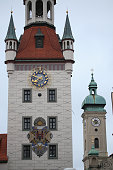 istock Old Town Hall (Altes Rathaus) building at Marienplatz in Munich, 514856900