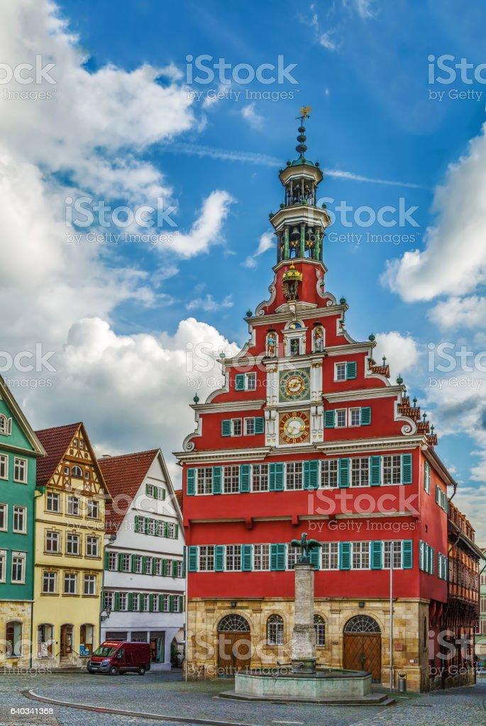 Old Town Hall, Esslingen am Neckar, Germany stock photo