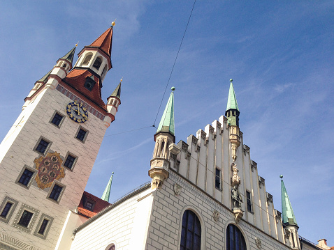 old town hall in munich
