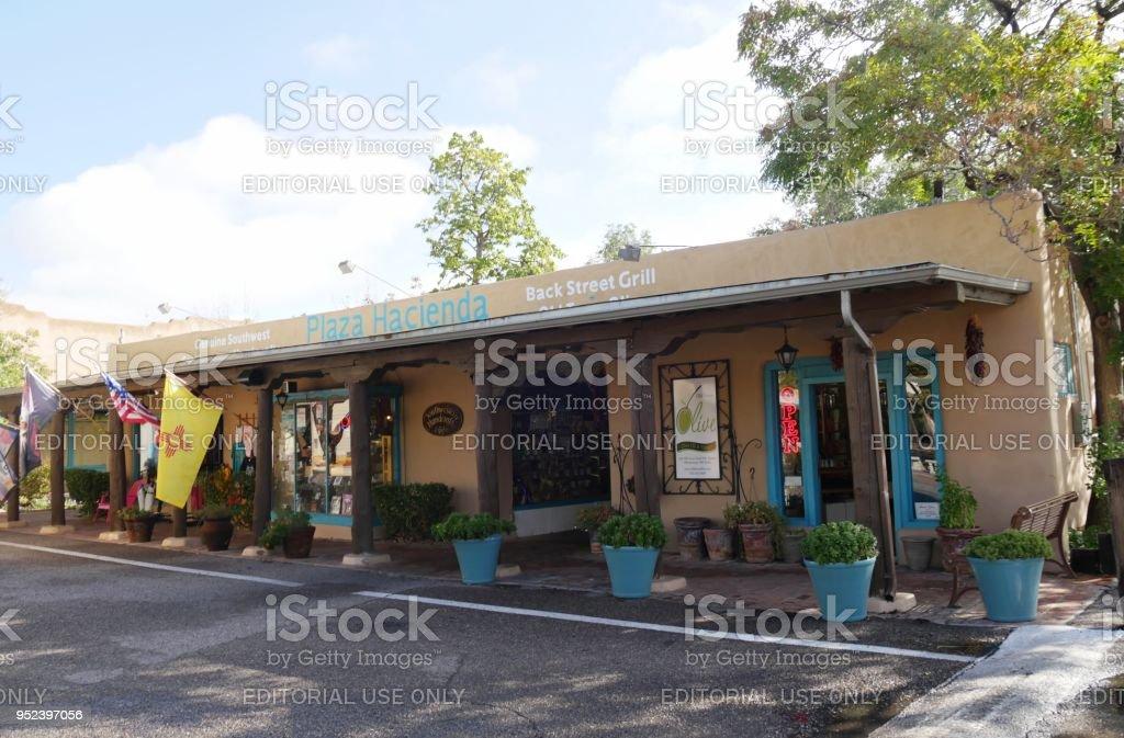 Old Town in Albuquerque, New Mexico stock photo