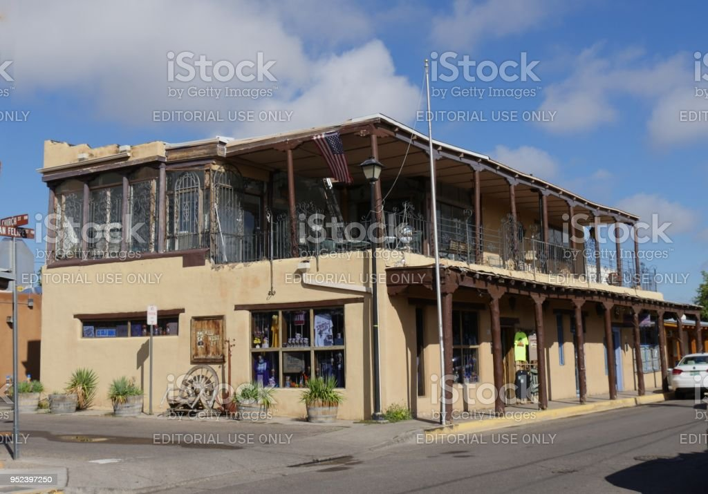 Old Town in Albuquerque stock photo