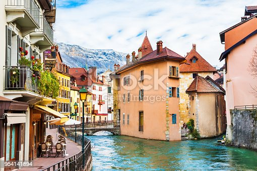 istock Old town in Annecy, France. 954141894