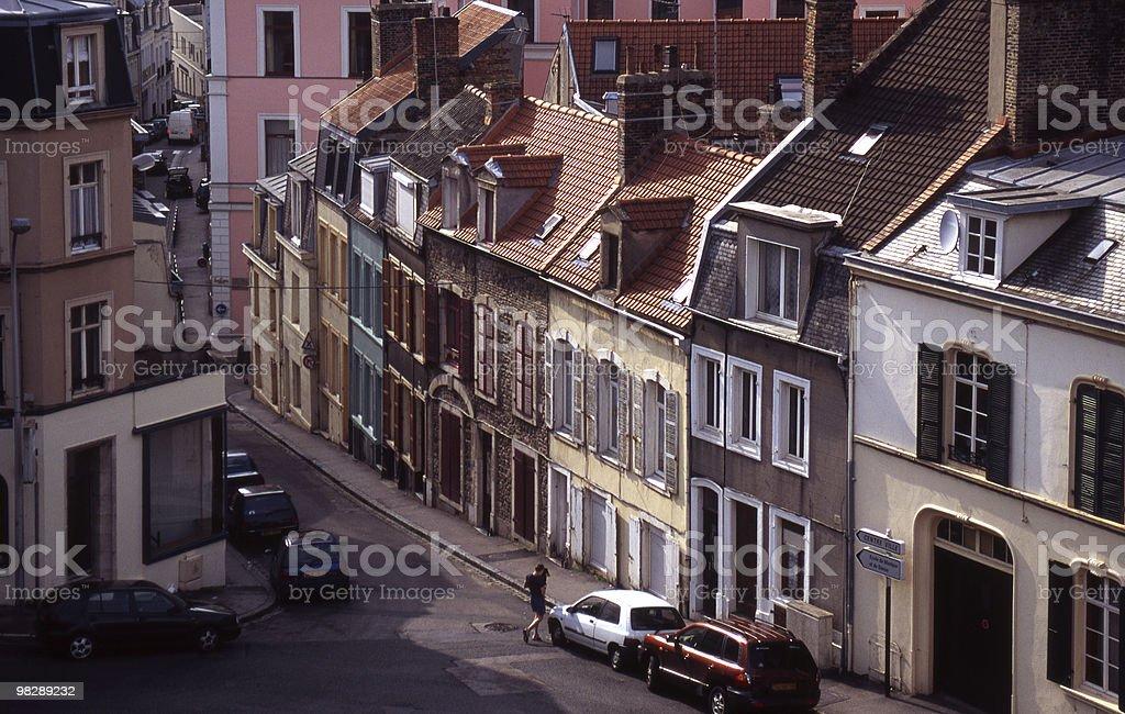 구도시 in 불로뉴, 파 드 Calais, 프랑스 royalty-free 스톡 사진