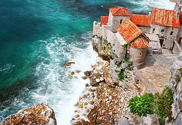 Old town in Budva Montenegro – Foto