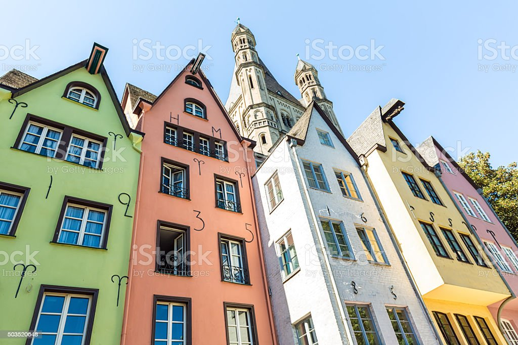Old Town in Cologne royalty-free stock photo