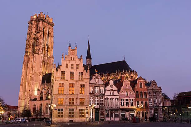 in der Altstadt von Mechelen Belgien – Foto