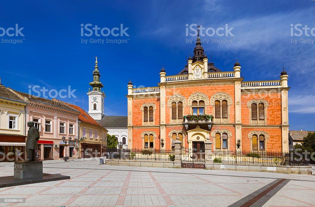 Stare miasto w Novi Sad, Serbia zbiór zdjęć royalty-free