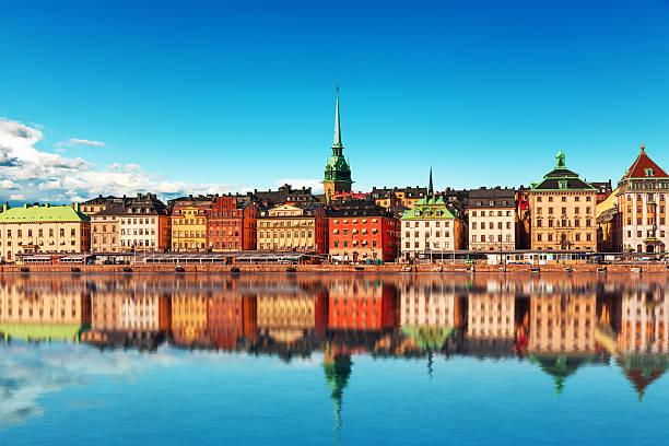 Altstadt in Stockholm, Schweden – Foto