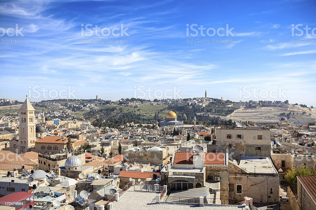 Old Town, Jerusalem, Israel royalty-free stock photo
