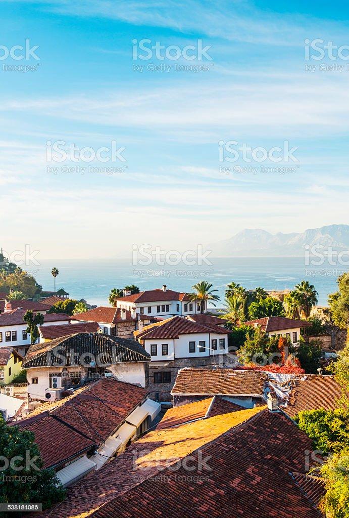 Old Town, Kaleici Antalya stock photo