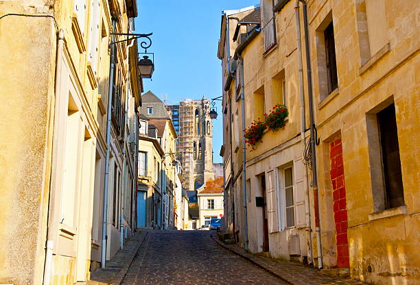Old town Laon Old town Laon. Taken in the Laon of France. aisne stock pictures, royalty-free photos & images