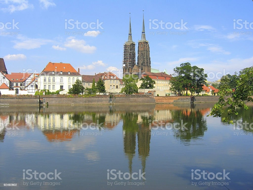 Old town - monuments in Wroclaw [4] royalty-free stock photo
