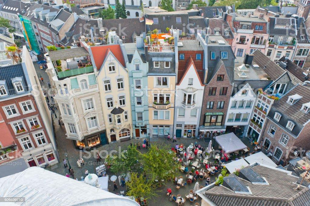 Altstadt von Aachen, Deutschland – Foto