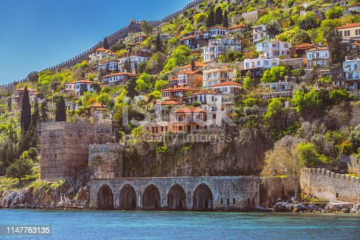 Alanya is in Antalya, Turkey, situated on the south coast.