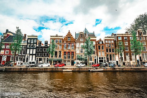 Old town of Amsterdam