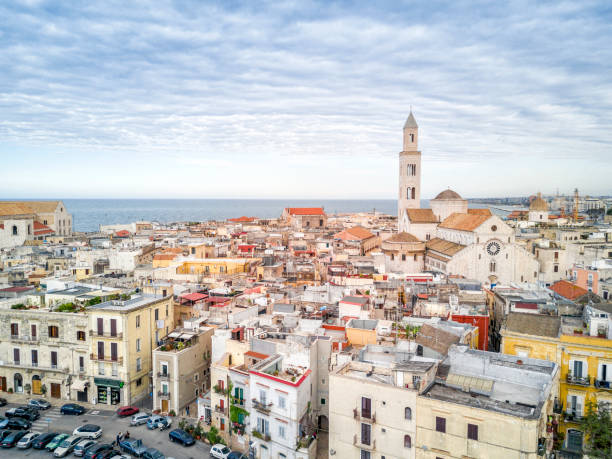 Old town of Bari, Puglia, Italy stock photo