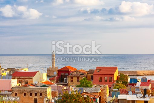 istock Old town of Chania, Crete, Greece 576729408