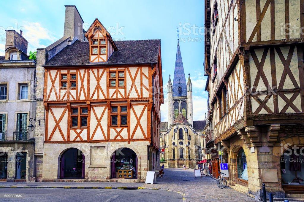 Old town of dijon burgundy france stock photo more for Dijon architecture