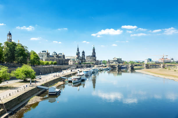 Alte Stadt von Dresden – Foto