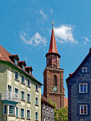 istock old town of Fuerth with steeple 1156504047