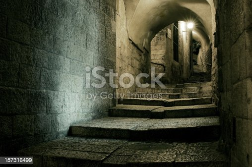 istock Old town of Jerusalem 157316499