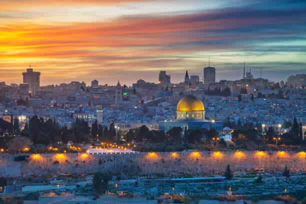 altstadt von jerusalem. - jerusalem stock-fotos und bilder
