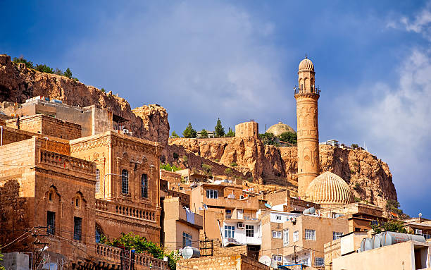 Old town of Mardin, Turkey stock photo