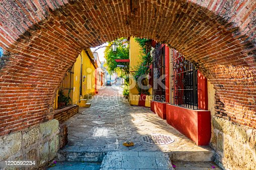 istock old town of Oaxaca, Mexico 1220592234