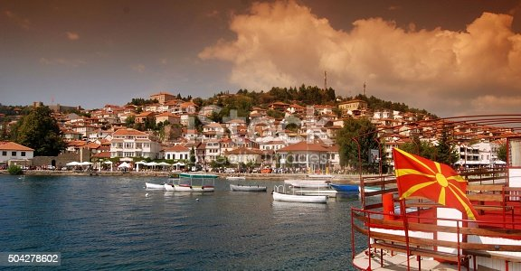 686175420 istock photo Old town of Ohrid 504278602