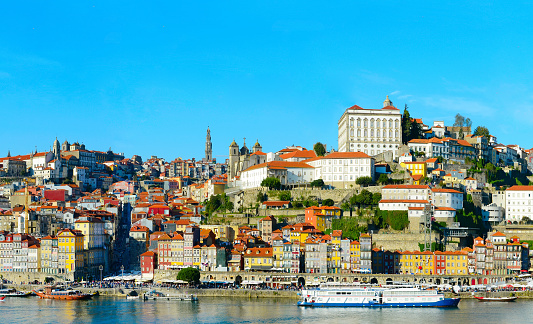 Old Town Of Porto Portugal Stock Photo - Download Image Now