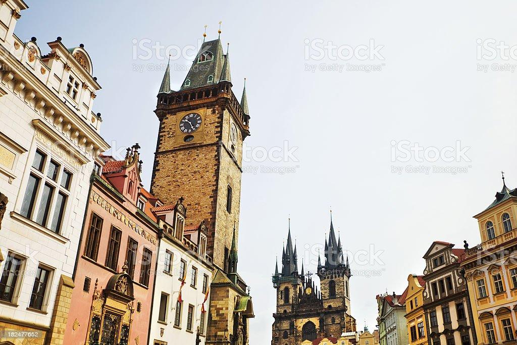 old town of Prague, Czech Republic stock photo