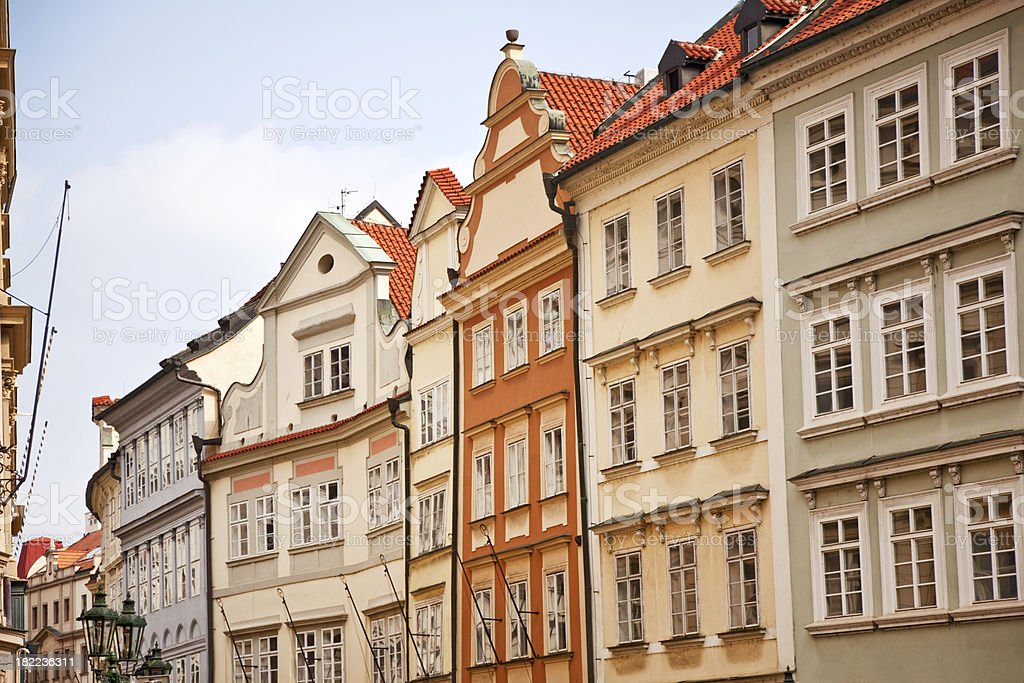 old town of Prague royalty-free stock photo