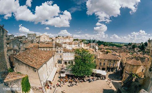 Rooftops of Saint-Emilion, Aquitaine, France