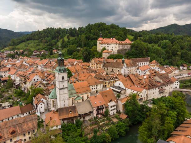 Altstadt von Skofja Loka, Slowenien – Foto