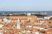 Old town of Venice. View from the bell tower Campanile di San Marco in Verona, Italy