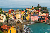 istock Old town of Vernazza village with colorful houses in Cinque Terre park Liguria, Italy 1211851113